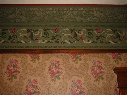 The restoration of a late victorian home oldhouseguy blog - Late victorian wallpaper ...